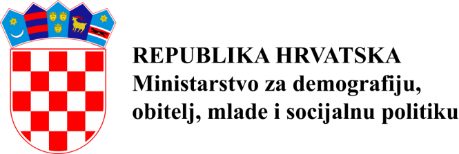 Slikovni rezultat za ministarstvo za demografiju logo